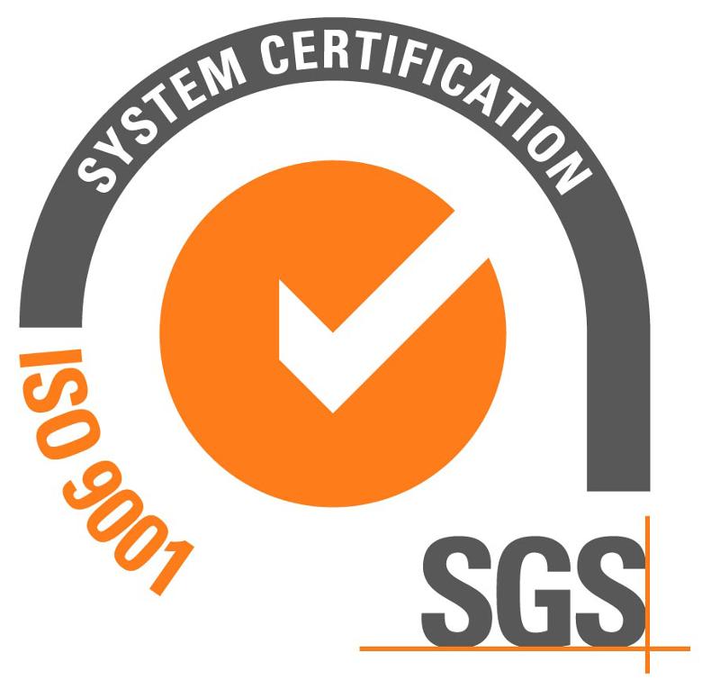 Sertifikat o primeni sistema kvaliteta po standardu ISO 9001:2008 izdat od švajcarske sertifikacione kuće SGS